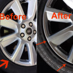 Range Rover Wheel Before After